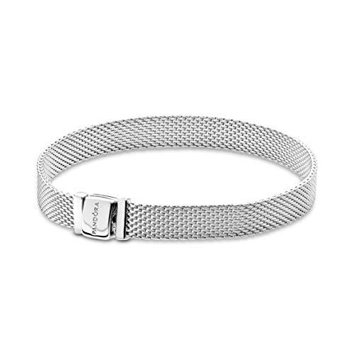 Pandora Women 925 Silver Silver Statement Bracelet - 597712-19