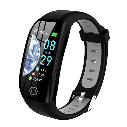 Tipmant Orologio Fitness Uomo Donna Smartwatch Pressione Sanguigna Bracciale Cardiofrequenzimetro da Polso Impermeabile IP68 Contapassi Sportivo Fitness Tracker per iOS Android Samsung Huawei Xiaomi