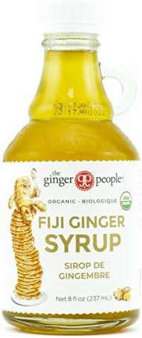 Ginger People Organic Ginger Syrup 8 fl oz product image