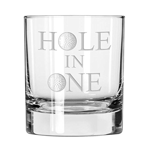 Hole in One Golf Whiskey Glass
