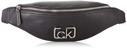 Calvin Klein Damen Ck Cast Waistbag Clutch, Schwarz (Black), 8x14x45 centimeters