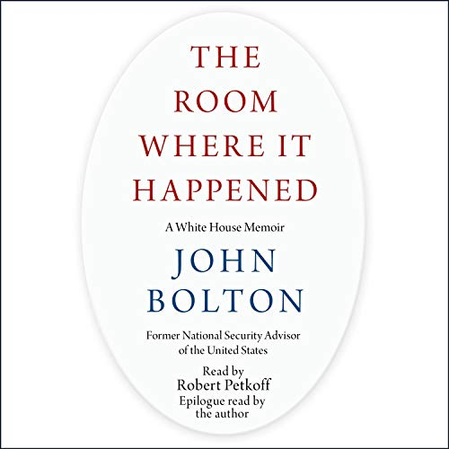 The Room Where It Happened audiobook cover art