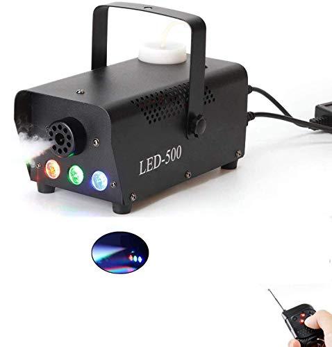 Uzone Mini Nebelmaschine 500 Watt mit LED
