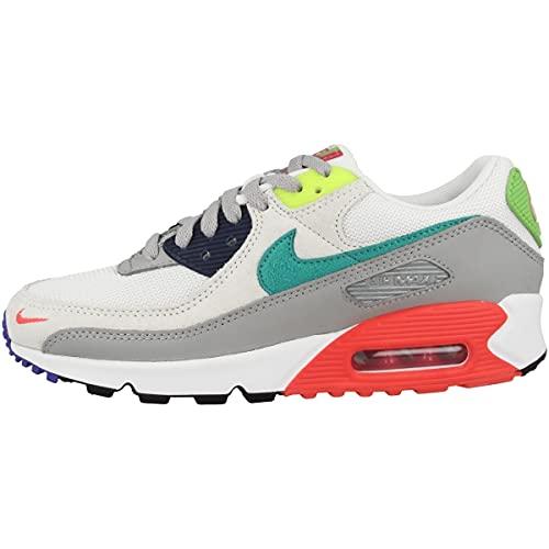 Nike Zapatillas para hombre Low Air Max 90 SE, color Gris, talla 47 EU