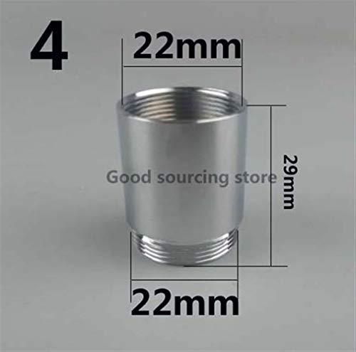 Filtre brita 16 18 20 22 24 mm G3 / 4 G1 / 2 Purificateur d'eau de robinet de cuisine Aérateur Adaptateur, Accessoires de Purificateur d'eau brita (Color : Female 22 Male 22)