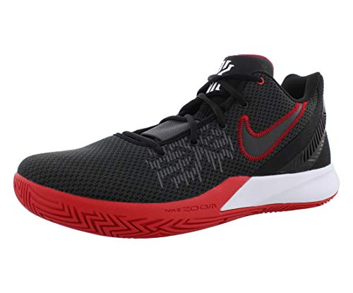 Nike Kyrie Flytrap 2 Hommes Basketball Trainers AO4436 Sneakers Chaussures (UK 7.5 US 8.5 EU 42, Black White University Red 016)