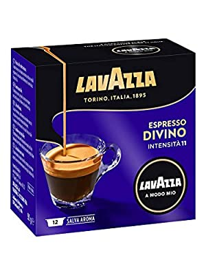 Lavazza A Modo Mio Espresso Selezioni Divino 12 Coffee Machine Capsules (Pack of 2)