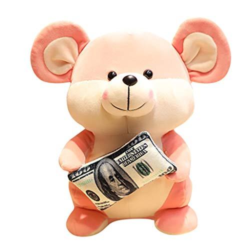 Gaddrt Plüschtier Maus Cartoon Spielzeug Puppe Schöne Weiche Tier Gefüllte Plüschtier Home Party Hochzeit Kind Geschenk (A, 28cm)