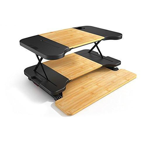 GBY Wandklapptisch Stand-up-Computer-Schreibtisch, Notebook-Schreibtisch, Monitor Tastatur Aluminium Aufzug Anpassung Halterung Wand-Kindertisch