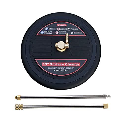 Cepillo de superficie, accesorio de limpieza de superficie de alta presión de...