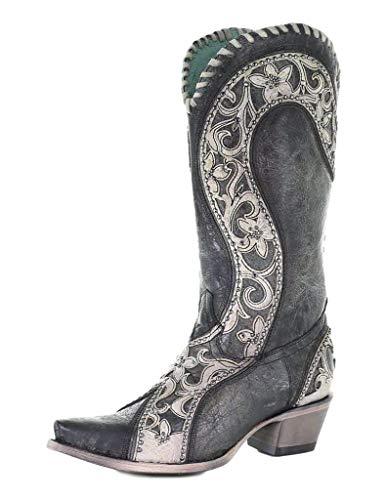 Corral Boots E1540 Black 10.5 B (M)