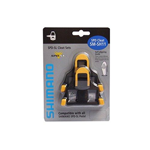 Shimano SM-SH11 Unisex Adult Cleats - Yellow