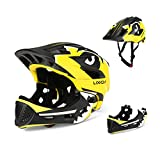 Lixada ヘルメット 取り外し可能 フルフェイス ヘルメット 屋内 サイクリング スケートボード スポーツ 安全用