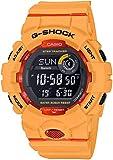 Casio Reloj Digital para Hombre de Cuarzo con Correa en Resina GBD-800-4ER, Naranja