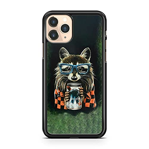 Compatibile con Fox Animal Check Pattern Jumper Blue Bicchieri Drink Beverage Phone Cover (modello di telefono: compatibile con Google Pixel 3 XL)