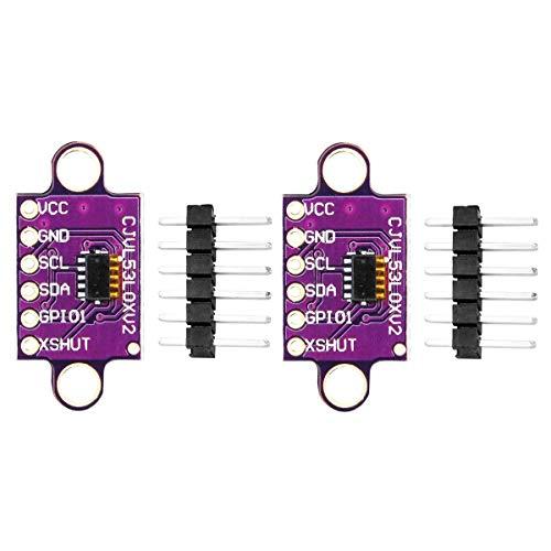 DaFuRui VL53L0X Time-of-Flight Distance Sensor Breakout GY-VL53L0XV2 (ToF) Laser Ranging Module I2C IIC Compatible for Arduino