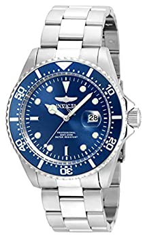 Invicta Men s Pro Diver Quartz Diving Watch with Stainless-Steel Strap Silver 22  Model  22019