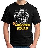 Desconocido 35mm - Camiseta Niño The Monster Squad - Negro - Talla 5-6 años