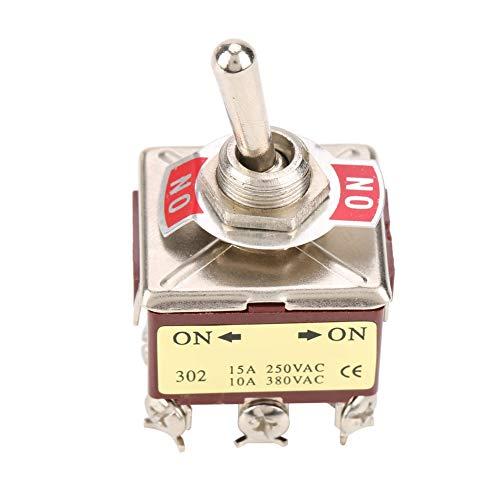 Aparato electrodoméstico encendido-encendido del interruptor de palanca de 3PDT 9-pin durable para el automóvil