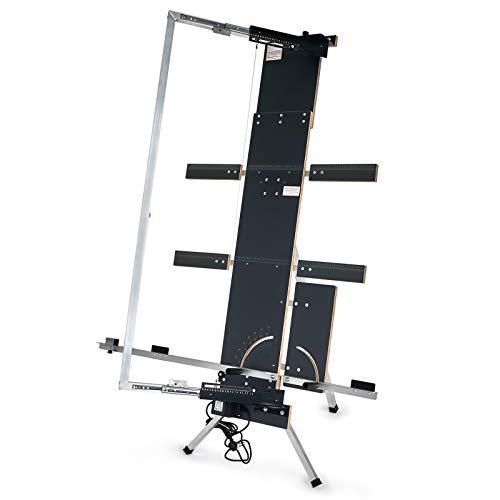 Der Styroporschneider - Modell Gazelle 6 freistehend - mit erweiterter Auflage und Schneidedrähten | Heißdrahtschneider Styroporschneidegerät Heißdraht Draht