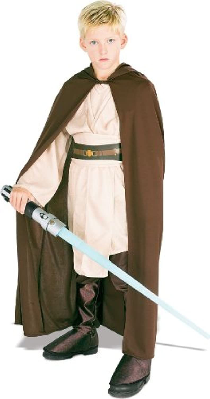 Star Wars Kinder Kostüm Jedi Robe Kapuze Gr. 5 bis 7 J.
