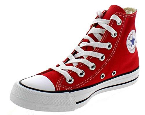 Converse ALL Star Hi Scarpe Sportive Alte Rosse M9621 Rosso 39.5 EU