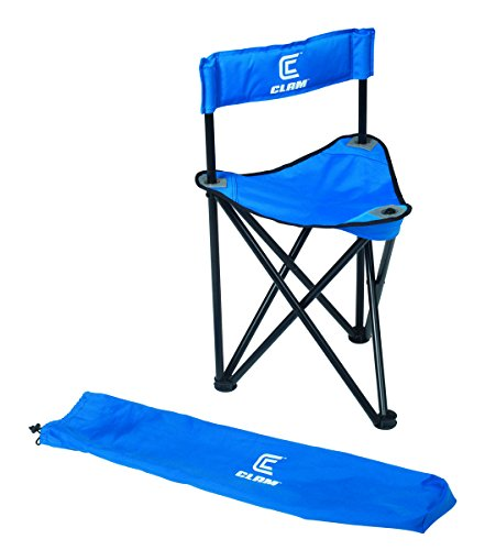 Clam Outdoors Folding Tripod Ice Chair