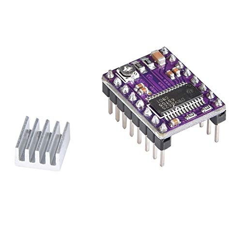 3D Printer Parts Stepstick Drv8825 Stepper Motor Driver Heat Sink Reprap Replace A4988 Driver To Ramps 1.4 1.5 1.6 Control Board Printer Replacement Parts