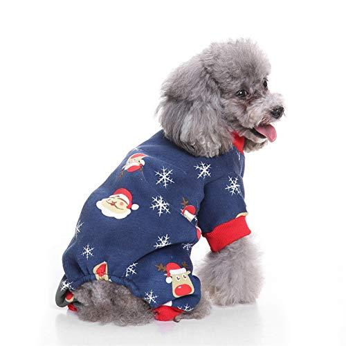 CWYPWDY Pet Kleidung Hund Kleidung Weihnachtskostüm niedlichen Cartoon für kleine Hundetuch Halloween-Kostüm Bekleidung Welpen Katze
