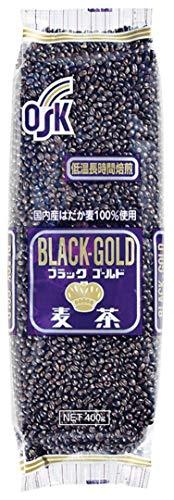 小谷穀粉 OSK ブラックゴールド麦茶 400g×3 [2108]