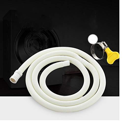 NO LOGO Sin Logotipo LMY-Air acondicionador de Piezas, 1 M-5 m, 15 mm x 16 mm, Color Blanco, 5 m