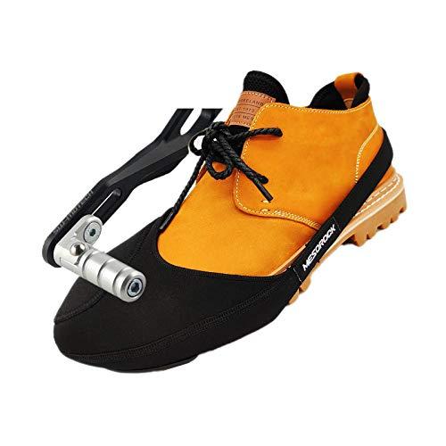 Cekell Protezione per stivali da moto, copriscarpe regolabile per motocicletta, pad del cambio