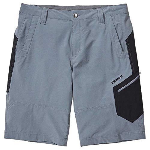 Marmot Limantour Shorts Homme, Steel Onyx/Black, 38