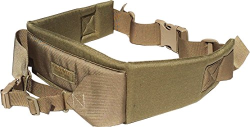 Fire Force A.L.I.C.E. Pack Kidney Pad with Waist Strap and Frame attaching Belt LC-2 Kidney Pad Made in USA (Tactical Tan)