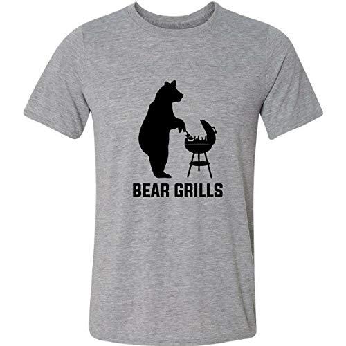Camiseta Bear Grills Bear Grylls Urso A Prova De Tudo Humor