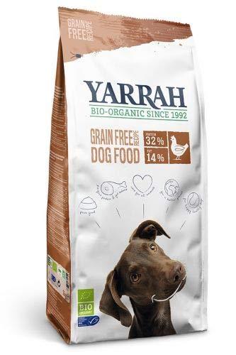 Yarrah Bio Croquettes sans Céréales pour Chien 2 kg