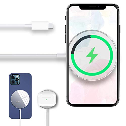 Reclimp 15W Magnetic Wireless Charger Compatible with iPhone 12/12Mini/12...