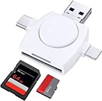 メモリカードリーダー 4in1 SD カードリーダー データ 容量不足 メモリ解消 データ移行 ファイル管理 カメラ用SDカード ビデオ 写真 音楽など データ保存対応