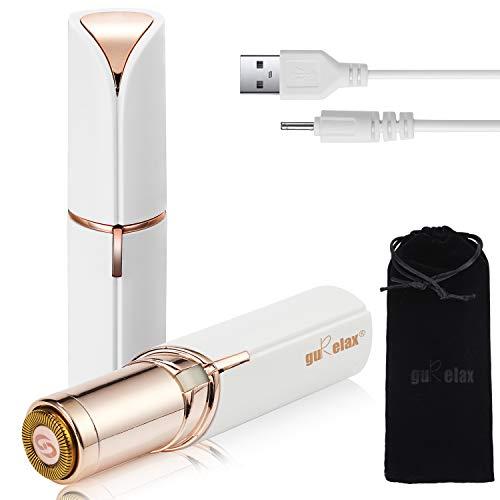 Gesichtshaarentferner für Frauen Verbesserter, wiederaufladbarer schmerzloser USB-Haarschneider, tragbarer, makelloser elektrischer Epilierer für Wangen, Kinn, Oberlippe und Arme, IPX6 wasserdicht