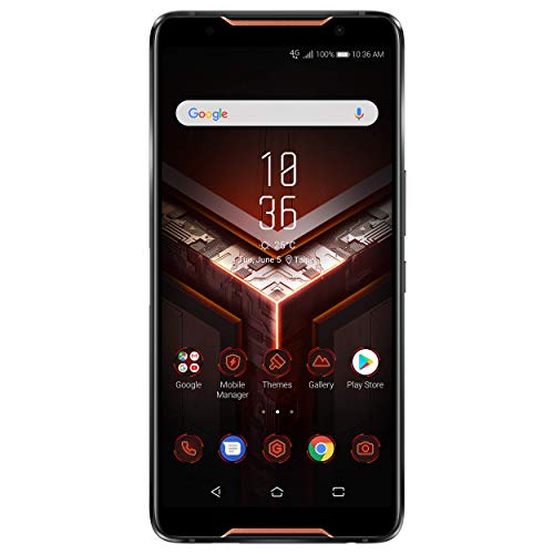 ASUS ROG Phone 128GB Dual-SIM Schwarz [15,24cm (6,0') OLED Display, Android 8.1, 12MP+8MP...