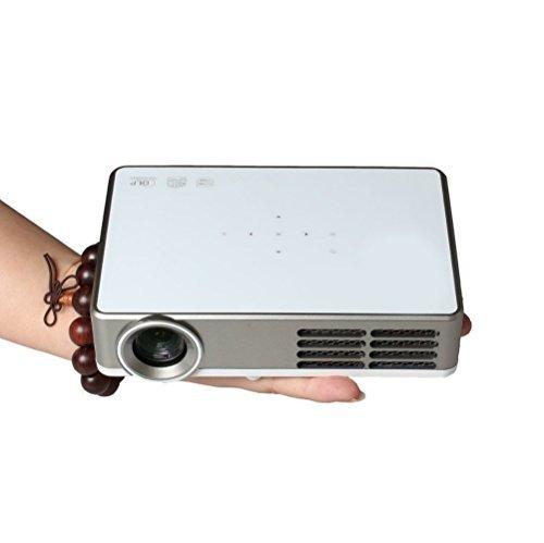 Taotaole 400 Lumens WXGA 1280x800 Resolution, Full HD 720p HDMI 3D-Ready Pocket DLP Projector