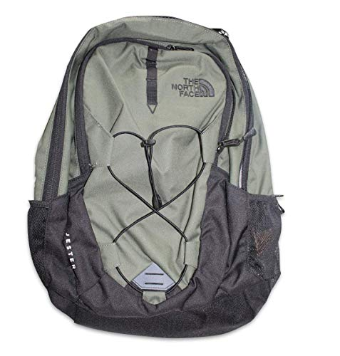 The North Face TNF Jester Backpack Thyme Green Black Pack Bag