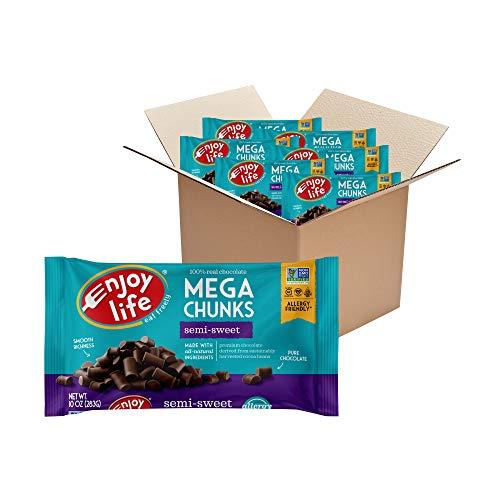 Semi-Sweet, Dairy Free Vegan Mega Chunk Chocolate Chips