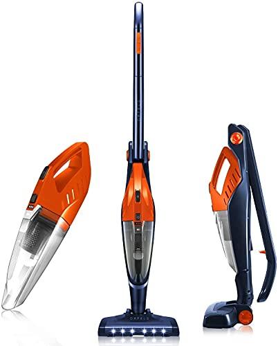 Cordless Vacuum, ORFELD Stick Vacuum Cleaner 4 in 1 Lightweight, Upright Vacuum Cleaner, Up to...