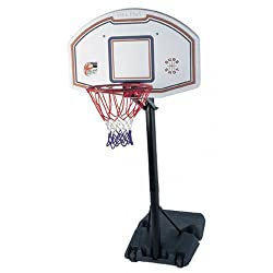 Sure Shot Quick Adjust Portable Unit With Eb Logo Basketball Backboard & Padding The 512 Quick Adjust unit is an extremely durable unit offering three height settings making it ideal for secondary school use. The unit is adjusted by releasing a catch...
