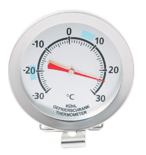 Sunartis 1-4009 T720DL Kühl- und Gefrierschrankthermometer mit Angabe der optimalen Temperaturbereiche