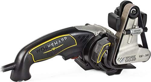 Worksharp Ken Onion Edition - Afilador de cuchillos y herramientas, 15° to 30° adjustable, negro/amarillo