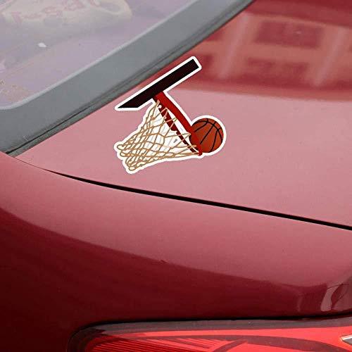 Hutianyu 12X9 Cm Interessante Basketball Übung Auto Aufkleber Zubehör 2 Teile/Satz
