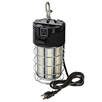 100Watt Portable Temporary LED Luminaire - Commercial Lighting for Construction Renovation and Maintenance Applications