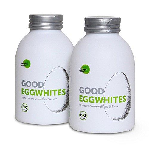 Good Eggwhites 2 x 483 ml (Albumi bio) • Albume liquido • Dimagrire e sviluppare i muscoli in modo sano • Frullati proteici • Low Carb • PUMPERLGSUND